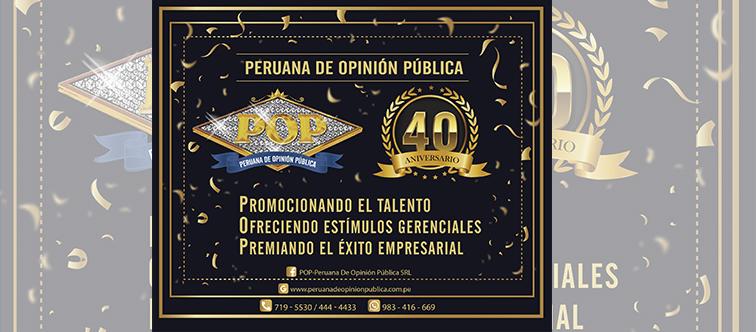 POP 40 años